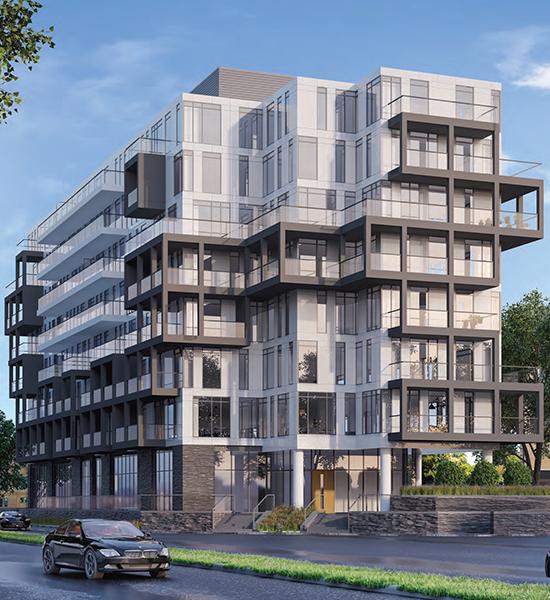 MontVert Condos building